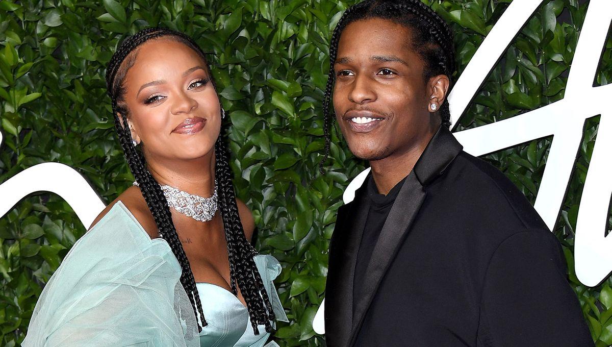 Photo de Asap Rocky et Rihanna