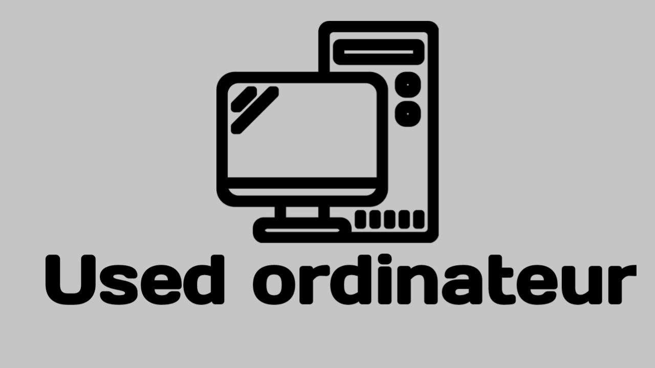 How to Sell Used ordinateur