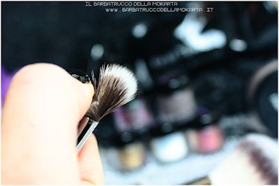 recensione tapered blendind  eyes brush linea professionale Finisterre mineral