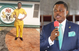 Actor Zubbby Appointed Special Adviser On Media By Governor Obiano (photo)