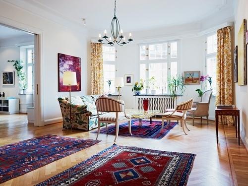 Arredare con i tappeti persiani arredo idee - Arredare con i tappeti ...