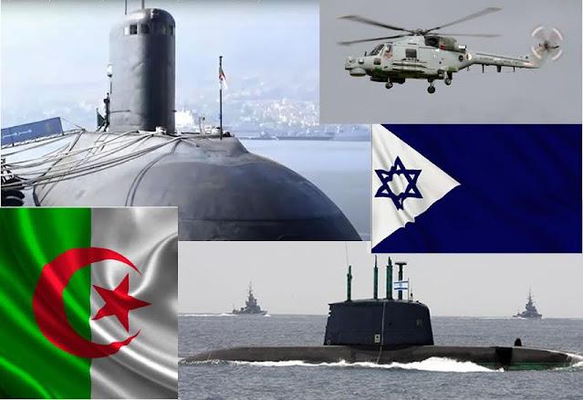 Incidente entre un submarino Israelí y submarinos y buques de superficie argelinos