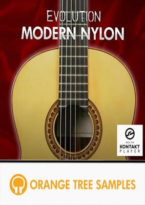 Cover da Kontakt Library Evolution Modern Nylon - Orange Tree Samples