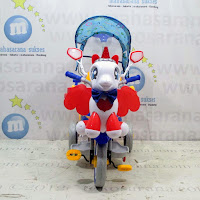family unicorn baby tricycle