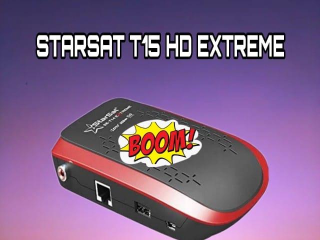 تعرف على مواصفات الجهاز الجديد STARSAT T15HD EXTREME