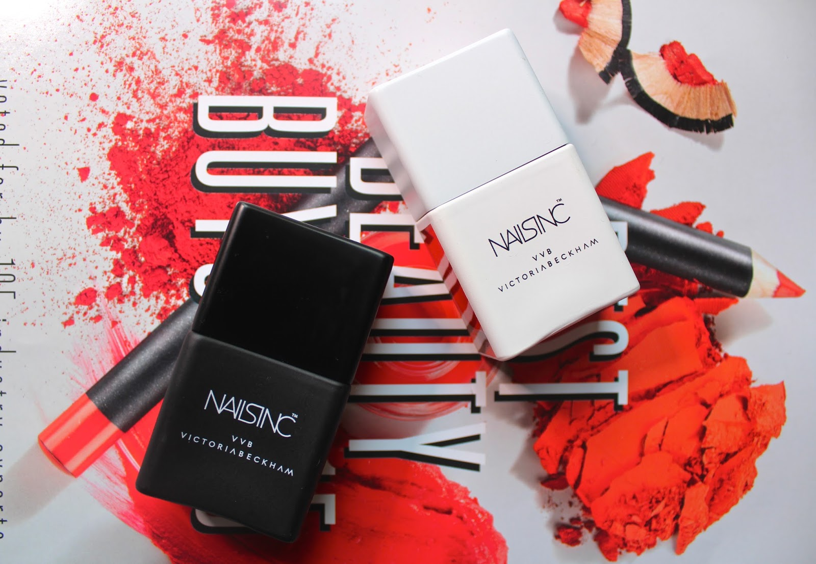 victoria beckham x nails inc polish varnish vvb nails nail art selfridges london celebrity blogger blog blogger bbloggers beauty instagram potd instagood bamboo white judo red