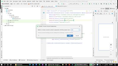 Enabling Git version control