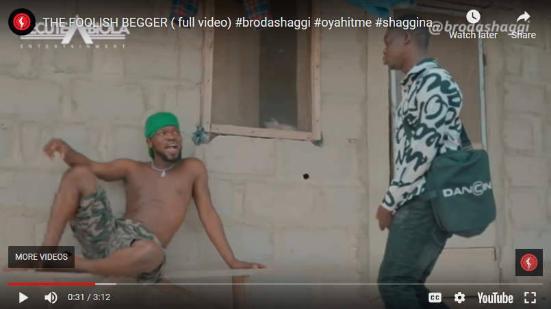 BRODA SHAGGI – THE FOOLISH BEGGER