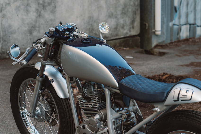 Yamaha Scorpio Cafe Racer by Purpose Build Moto.