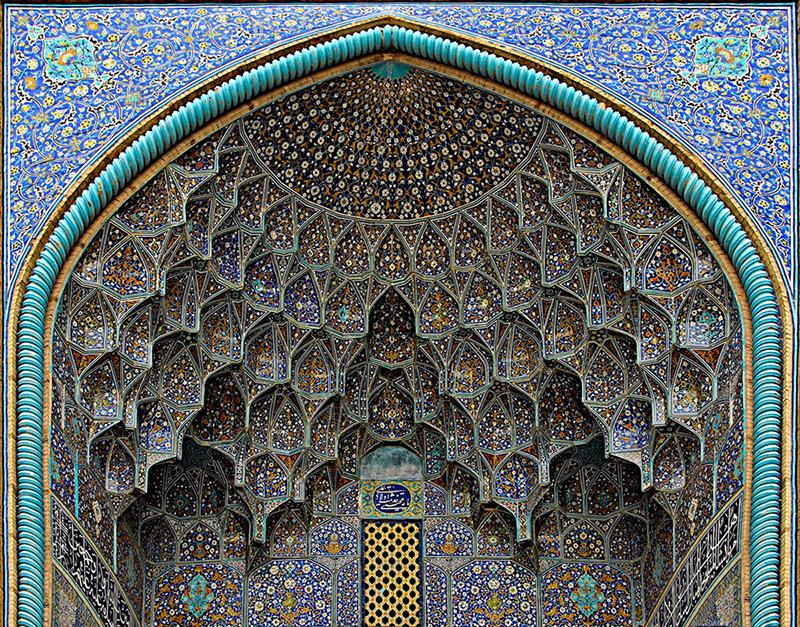 Мечеть Шейха Лютфуллы в Исфахане, Иран. Фото в блоге itdalee.ru