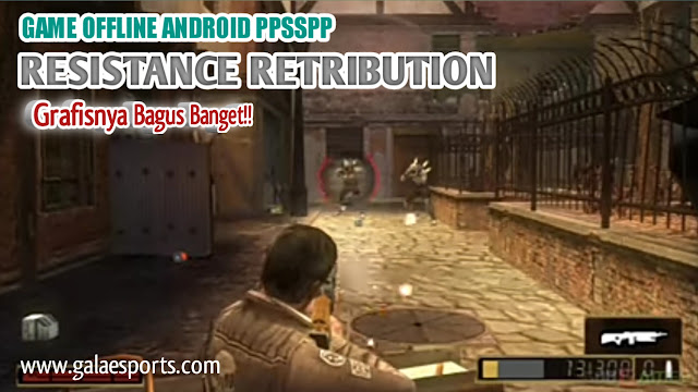Resistance Retribution - Game PPSSPP Terbaik di Android