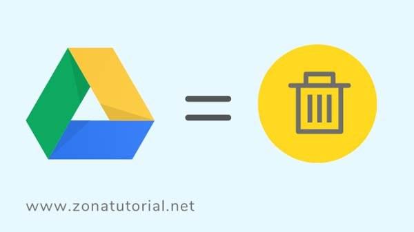 Cara menghapus penyimpanan google drive di android
