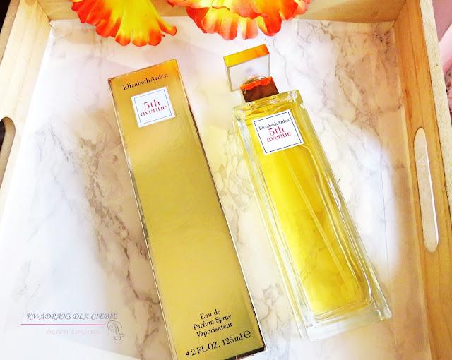 Elizabeth Arden 5th Avenue, woda perfumowana dla kobiet Elizabeth Arden, Kwadrans dla Ciebie, recenzja Elizabeth Arden 5th Avenue, dzień kobiet, prezenty dla kobiet, kobiecość, klasyka perfum