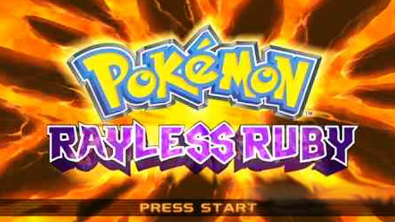 Pokemon Rayless Ruby para 3DS Imagen Portada
