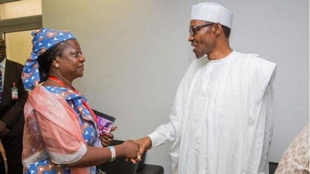 "Tweet of Lauretta Onochie calling President Buhari ""old man"" Surfaces"