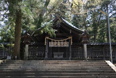 下社前宮 拝殿
