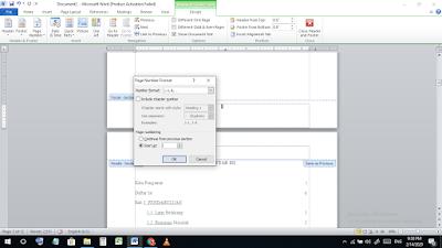 Cara Mengatur Nomor Halaman yang Berbeda  dalam Satu File di Microsoft Word  Cara Mengatur Nomor Halaman dalam Satu File di Microsoft Word