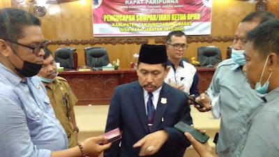 Resmi Dilantik Jadi Ketua DPRD Tanjabbar, Abdullah : Akan Pelajari RPJMD Bupati Dan Akan Dukung Program Pro Rakyat