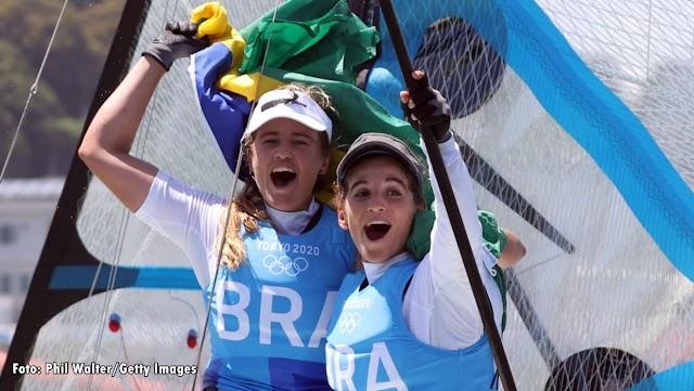 Tóquio 2020: Martine Grael e Kahena Kunze bicampeãs Olímpicas