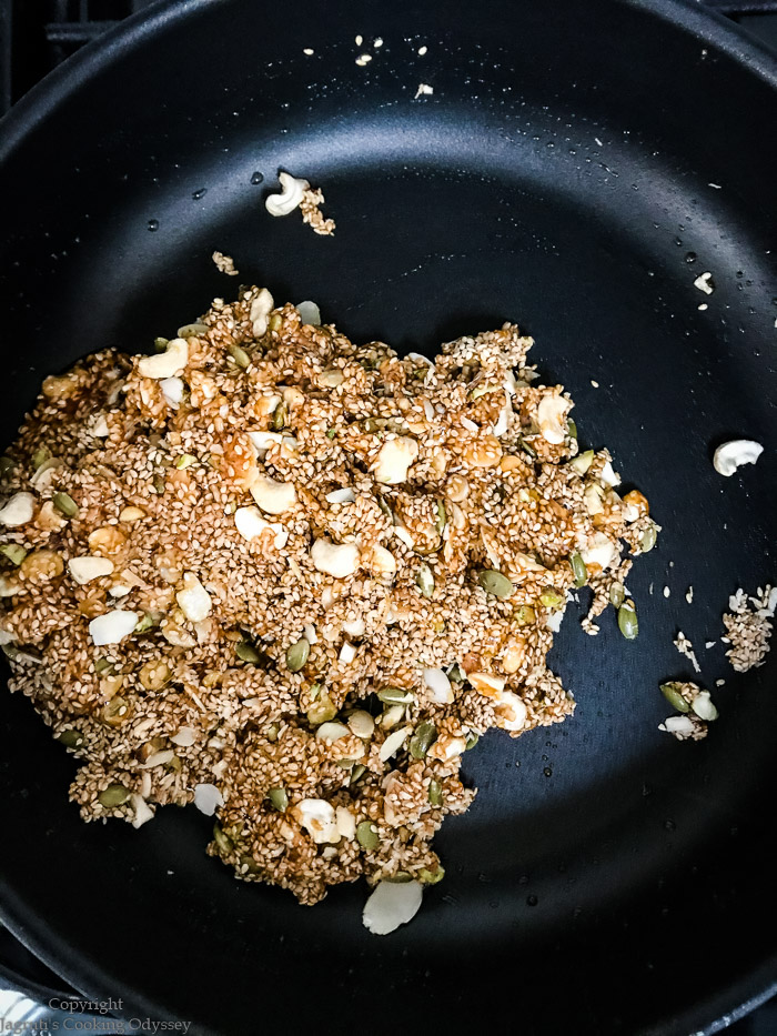 Sesame Chikki mix