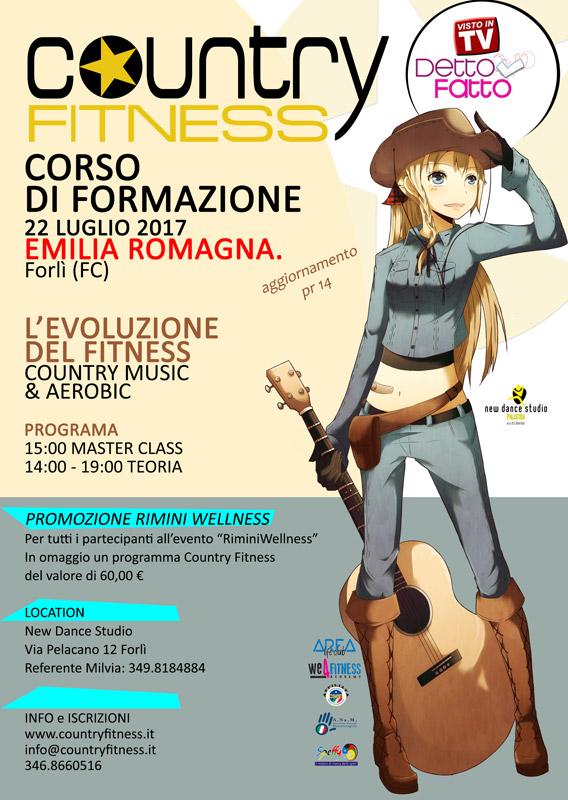 Corso di formazione Country Fitness Emilia Romagna