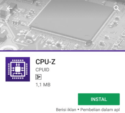CPU-Z Playstore