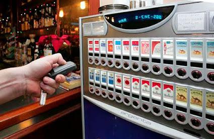 Las máquinas de tabaco pueden desaparecer en dos años