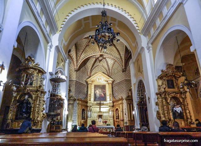 Altar-mor da Igreja de San Tomé, Toledo, Espanha