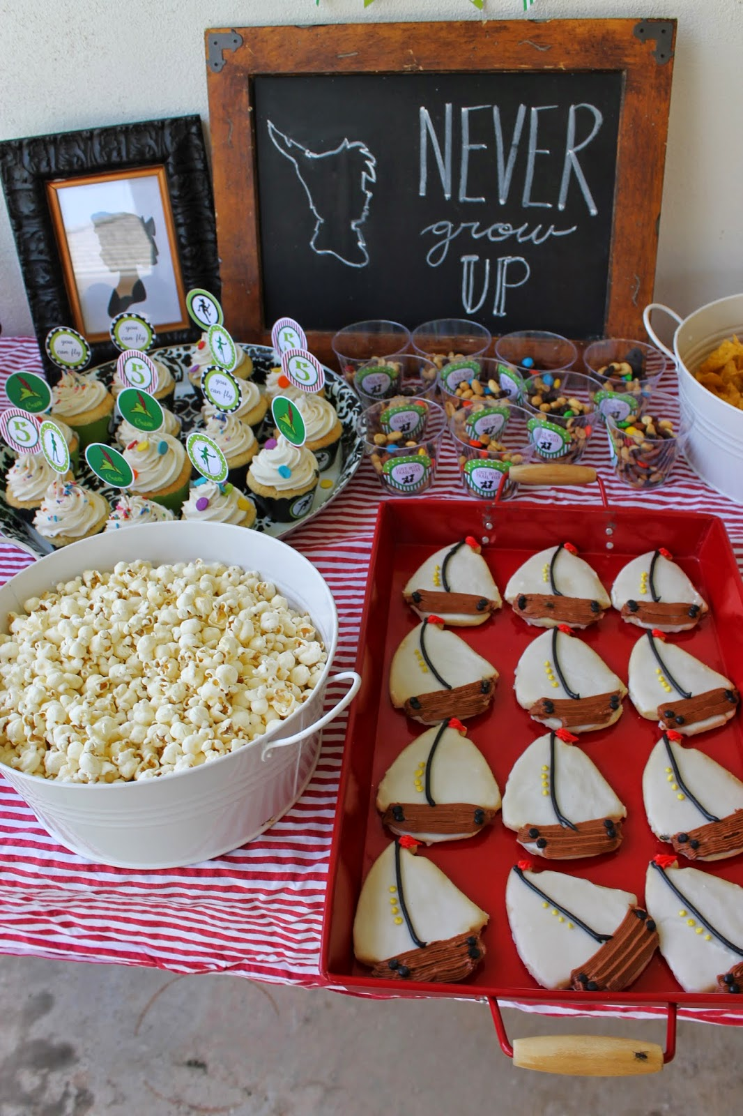 Peter Pan Party Food