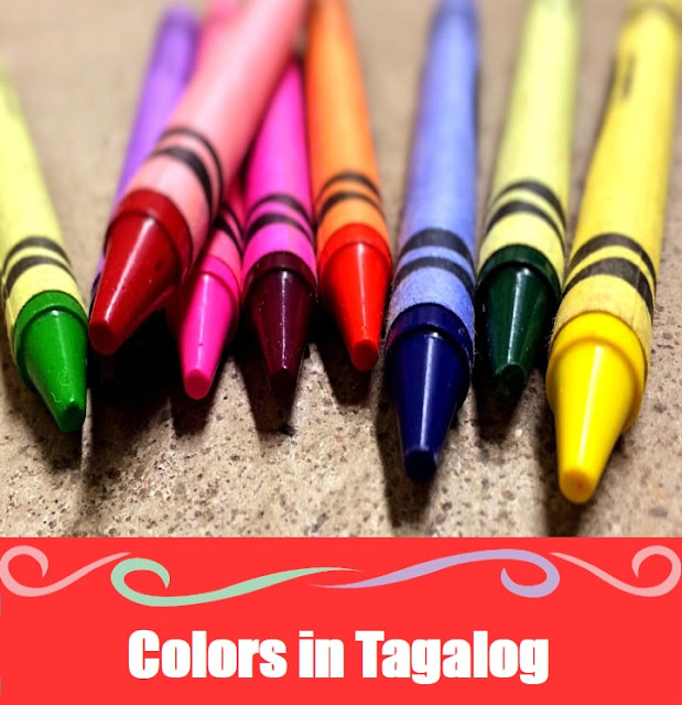 Color Word List in Tagalog