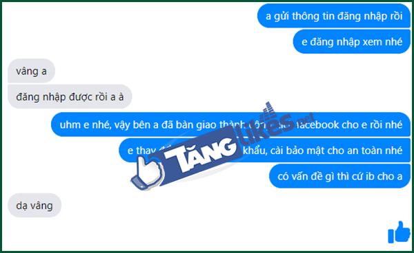 ban tai khoan facebook