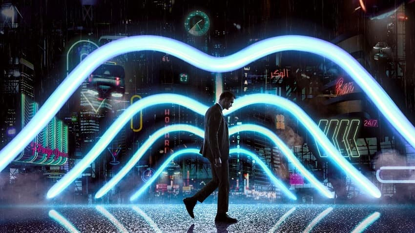 Немой, Фантастика, Киберпанк, Детектив, Нуар, Обзор, Рецензия, Мнение, Отзыв, Mute, SciFi, Cyberpunk, Detective, Noir, Review, Netflix