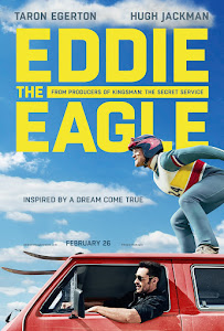 Poster Of Eddie the Eagle 2016 In Hindi Bluray 720P Free Download