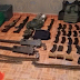 Decomisan arsenal, droga e inmueble al Cártel de Santa Rosa de Lima