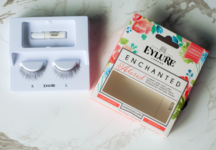 Beauty: Eylure Enchanted false lashes Adored review