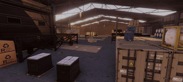 SICO Mobile Game Maps warehouse