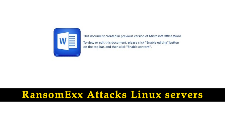 RansomExx newer variants adapted to Attack Linux servers