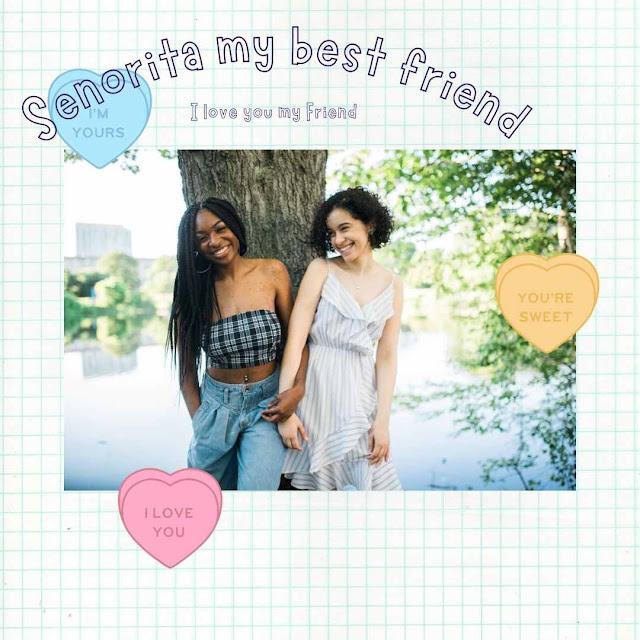 Best friend caption or poster 3