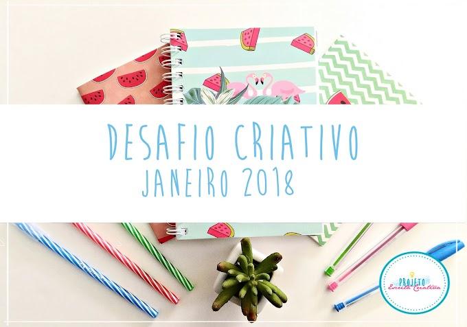 Desafio Criativo: Um mês, 31 Possibilidades
