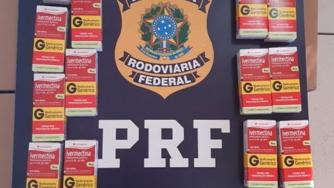 PRF apreende quase 30 mil comprimidos de Ivermectina na Chapada Diamantina
