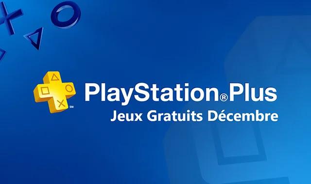 PS PLUS : des jeux gratuits pour décembre