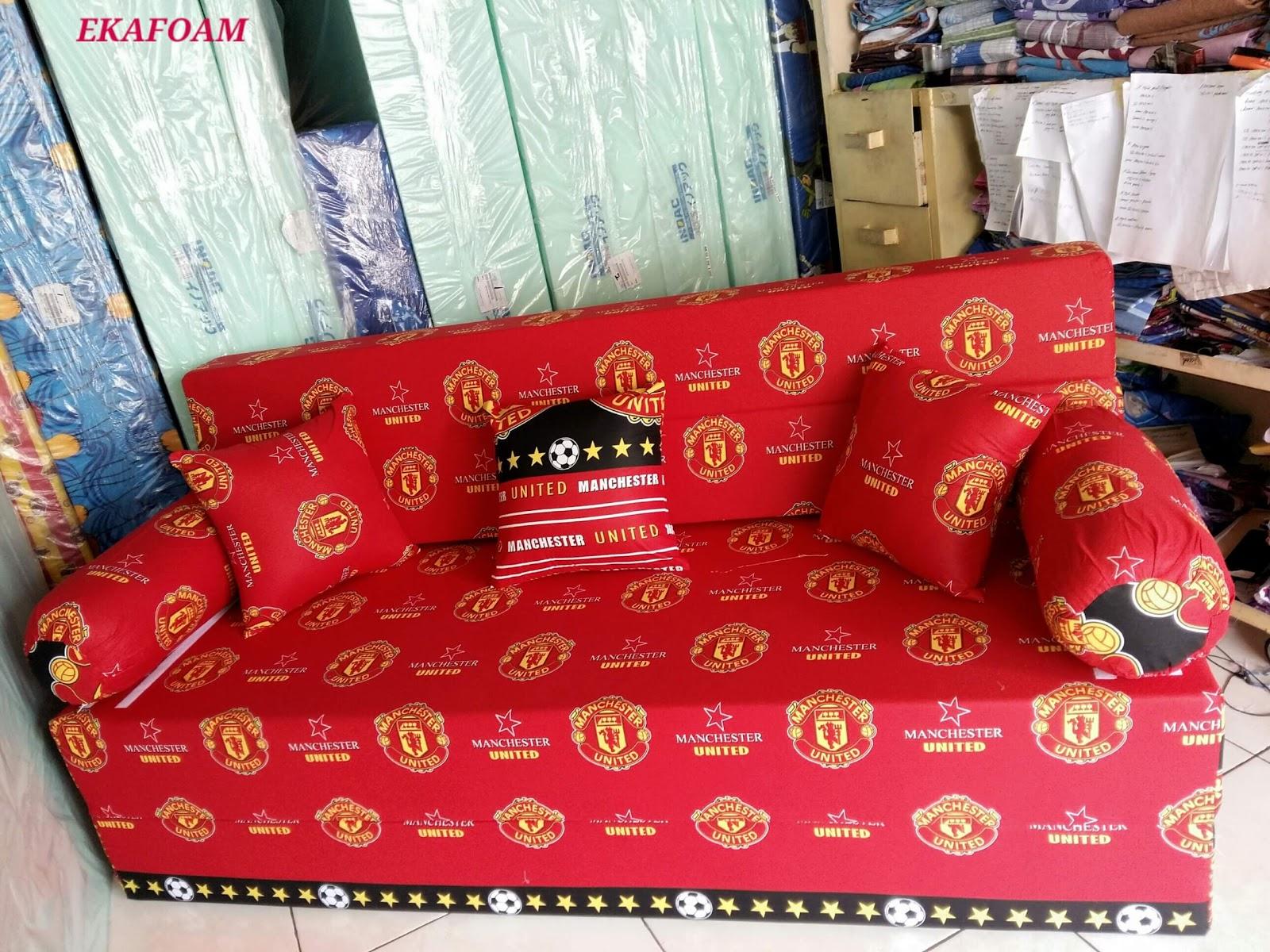 Sofa Bed Inoac 3 In 1 Leather Ikea Motif Keluarga Dewasa Agen Resmi Kasur