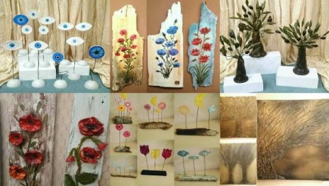 Έκθεση δημιουργιών ART FACTORY στο Ναύπλιο
