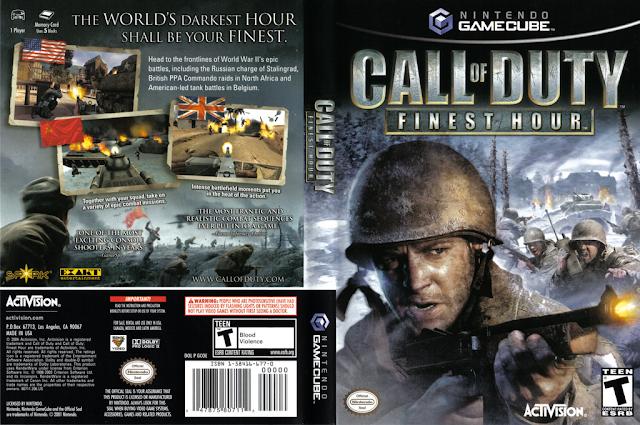 Descargar Call of duty - Finest Hour NTSC-PAL ps2 iso: Es un videojuego de disparos en primera persona y spin-off del primer Call of Duty, que pone de escenario nuevamente la Segunda guerra mundial. Es el tercer videojuego de esta exitosa serie y el primero que da el salto a las consolas PlayStation 2, Gamecube, y Xbox.