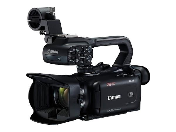 Canon XA45 está agora disponível na EMEA
