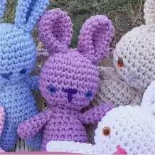 Amigurumi Conejito a Crochet