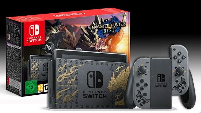 Sorteio Nintendo Switch Monster Hunter Rise Edition