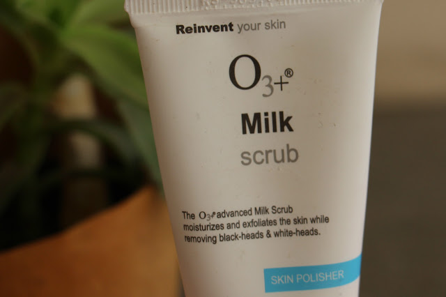 O3+ Milk Scrub Review price India, skincare, Mild Face Scrub, skin polisher, scrub for sensitive skin, acne prone skin skincare, delhi blogger, delhi beauty blogger, indian blogger, indian beauty blogger, beauty , fashion,beauty and fashion,beauty blog, fashion blog , indian beauty blog,indian fashion blog, beauty and fashion blog, indian beauty and fashion blog, indian bloggers, indian beauty bloggers, indian fashion bloggers,indian bloggers online, top 10 indian bloggers, top indian bloggers,top 10 fashion bloggers, indian bloggers on blogspot,home remedies, how to