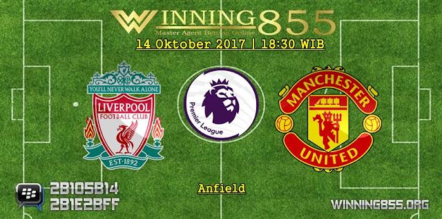 Prediksi Skor Liverpool vs Manchester United 14 Oktober 2017