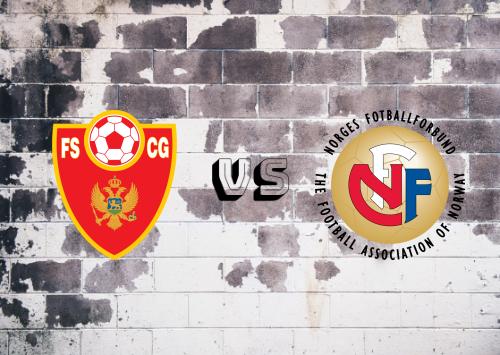 Montenegro vs Noruega  Resumen